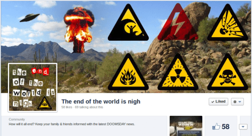 The end of the world is nigh Wordpress SEO Expert